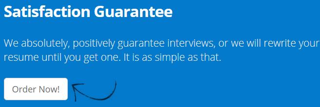 resumewriters.com review guarantee