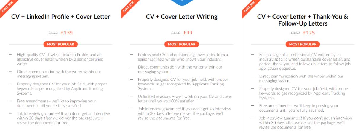 uk.careersbooster packages