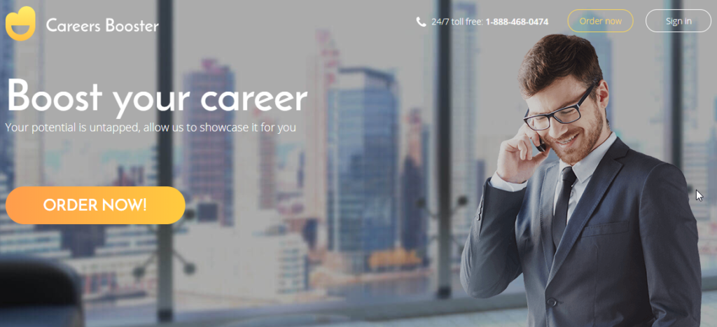 careers booster homepage