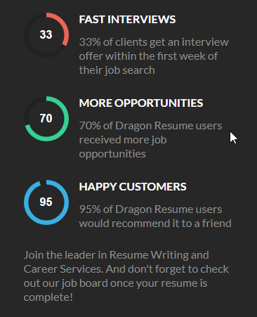 dragon resume special features