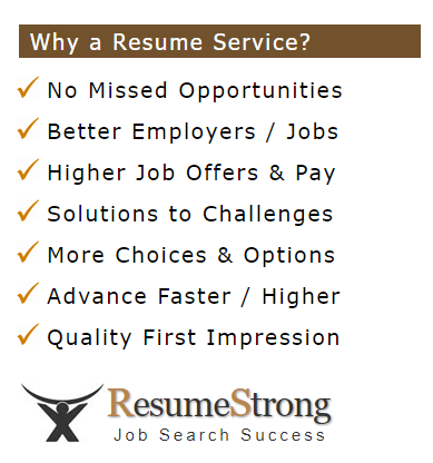 resume strong benefits