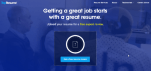 top resume homepage